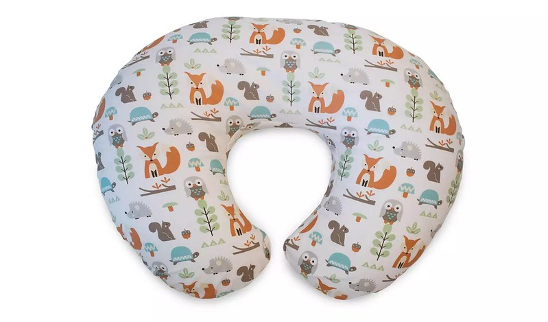 Chicco Boppy Pregnancy and Baby Nursing Pillow.