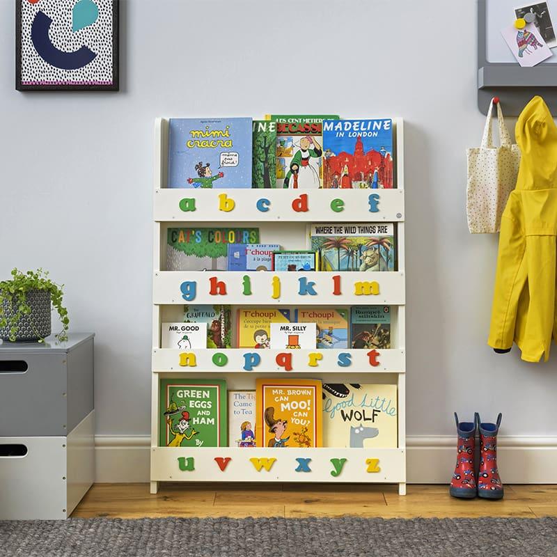 Tidy Books Alphabet Bookcase