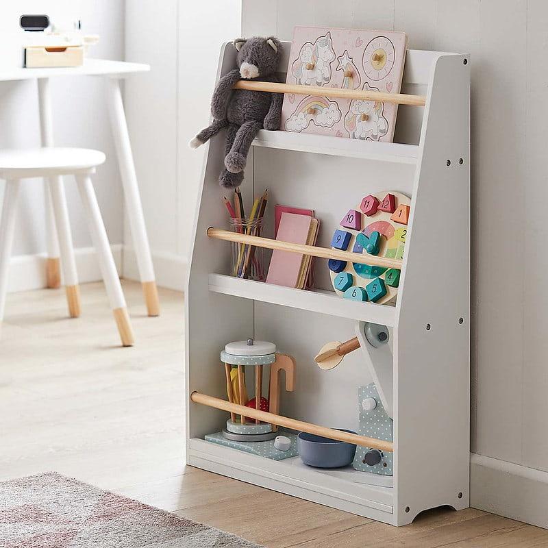 Dunelm Kids' White Bookcase.