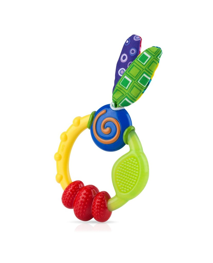 Nuby Wacky Teething Ring.