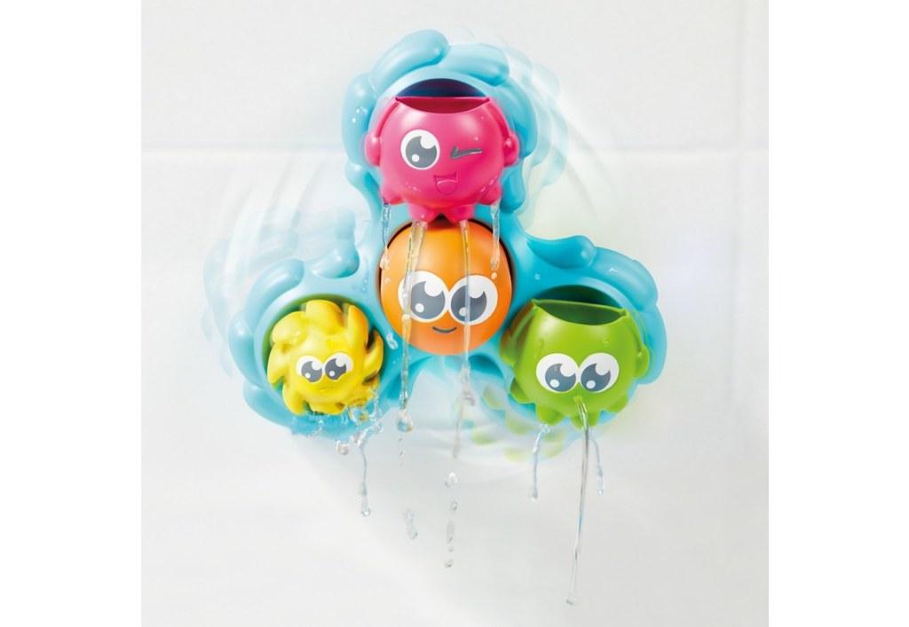 Tomy Toomies Spin & Splash Octopals.