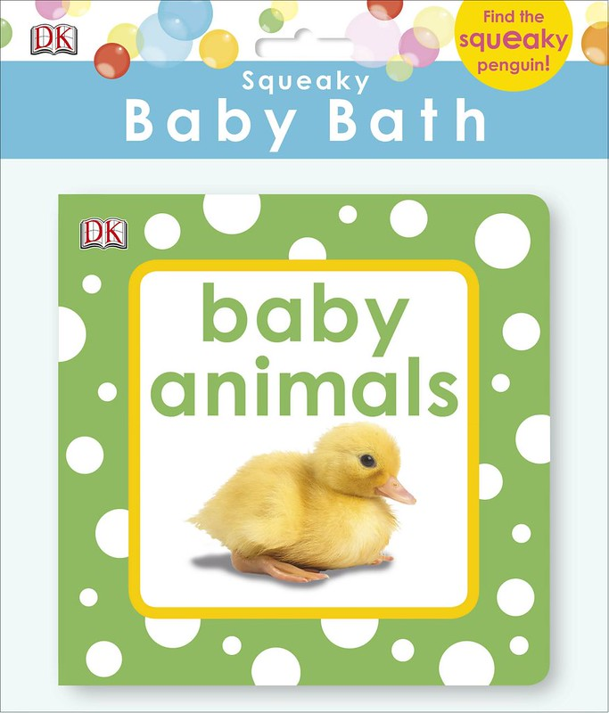 Squeaky Baby Bath Book - Baby Animals.