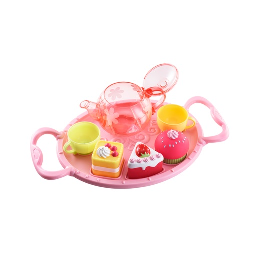 Early Learning Centre Pink Bath Time Tea Party Set.