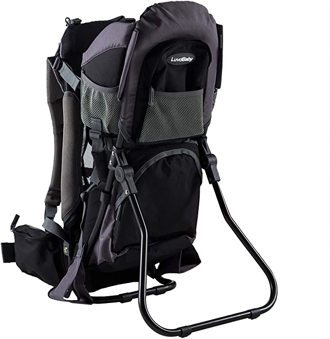 LuvdBaby Premium Baby Backpack Carrier.