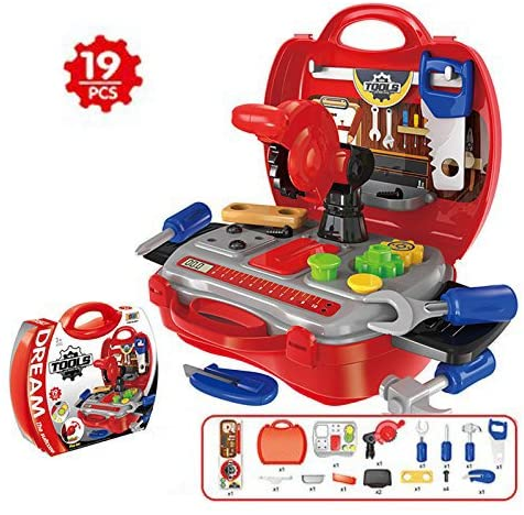 Adosmo Kids' Toy Tool Set And Power Play Toys.
