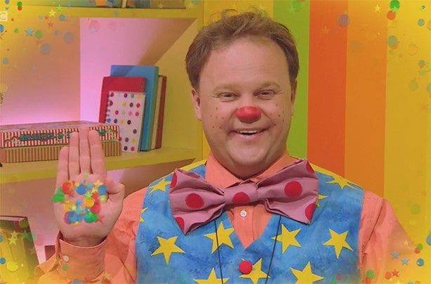 Mr Tumble from CBeebies.