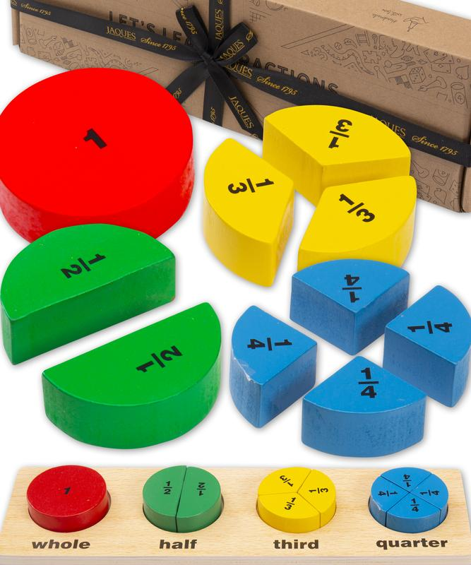 Jaques of London Fractions Learning Puzzle.