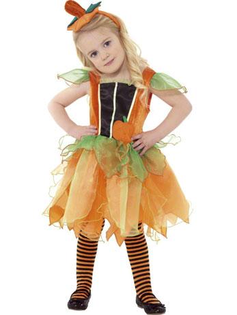 Kids' Pumpkin Fairy Costume.