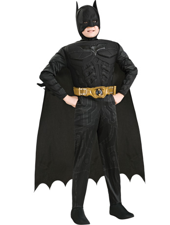 Kids' Muscle Batman Costume