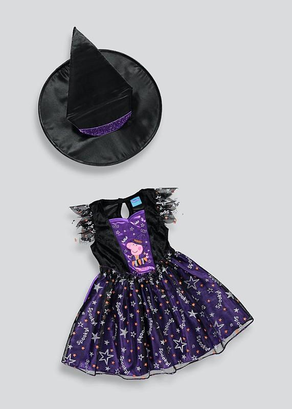 Kids' Peppa Pig Halloween Witch Fancy Dress Costume