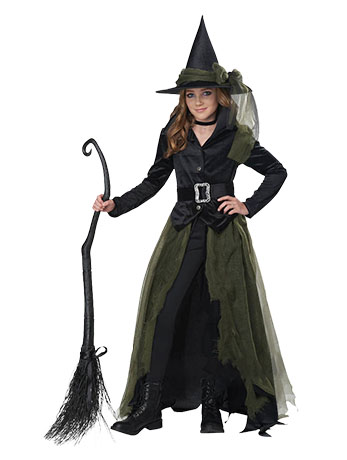 Kids' Cool Witch Costume.