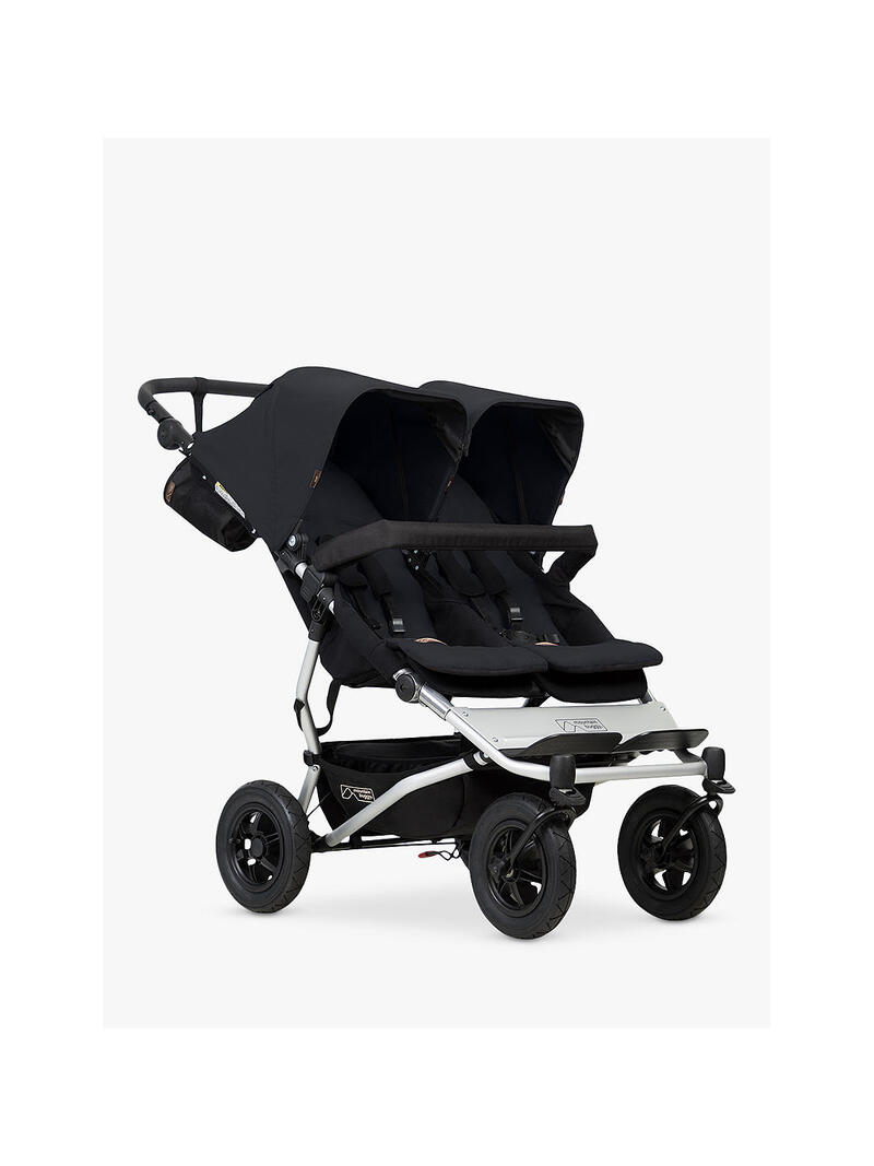 Mountain Buggy Duet v3 Double Stroller.