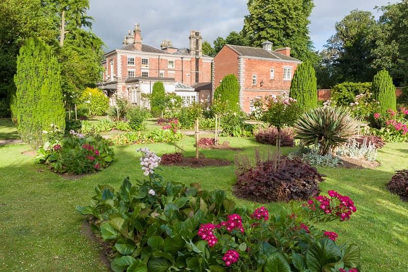 Castle Park House and Gardens.