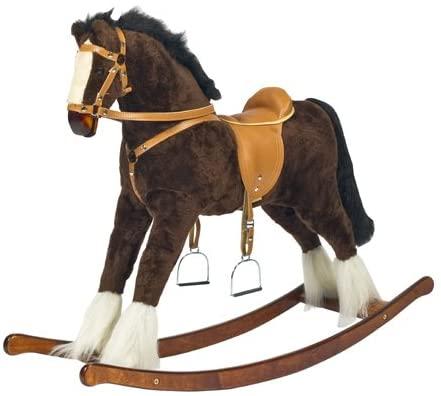 "MJMARK Handmade Rocking Horse ""Titan""."