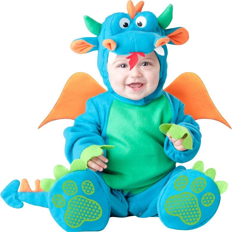 Time To Dress Up Baby Dragon Costume.