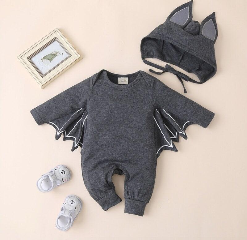 PatPat 2 Piece Baby Bat Jumpsuit.