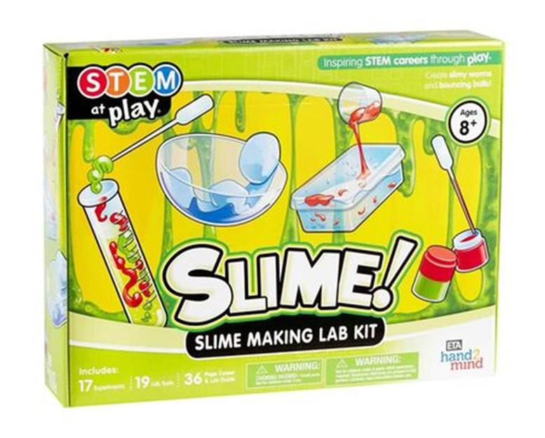 The Works Slime Making Lab Kit.