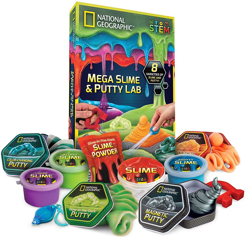 National Geographic Mega Slime & Putty Lab.