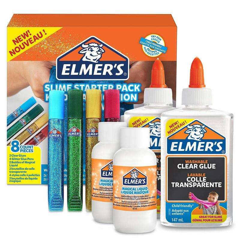 Elmer's Glue Slime Starter Kit.