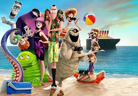 The Hotel Transylvania crew make for a spooky Halloween family-friendly movie.