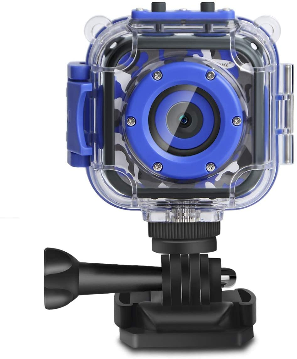 Kids waterproof camera to shoot fun photos and videos.