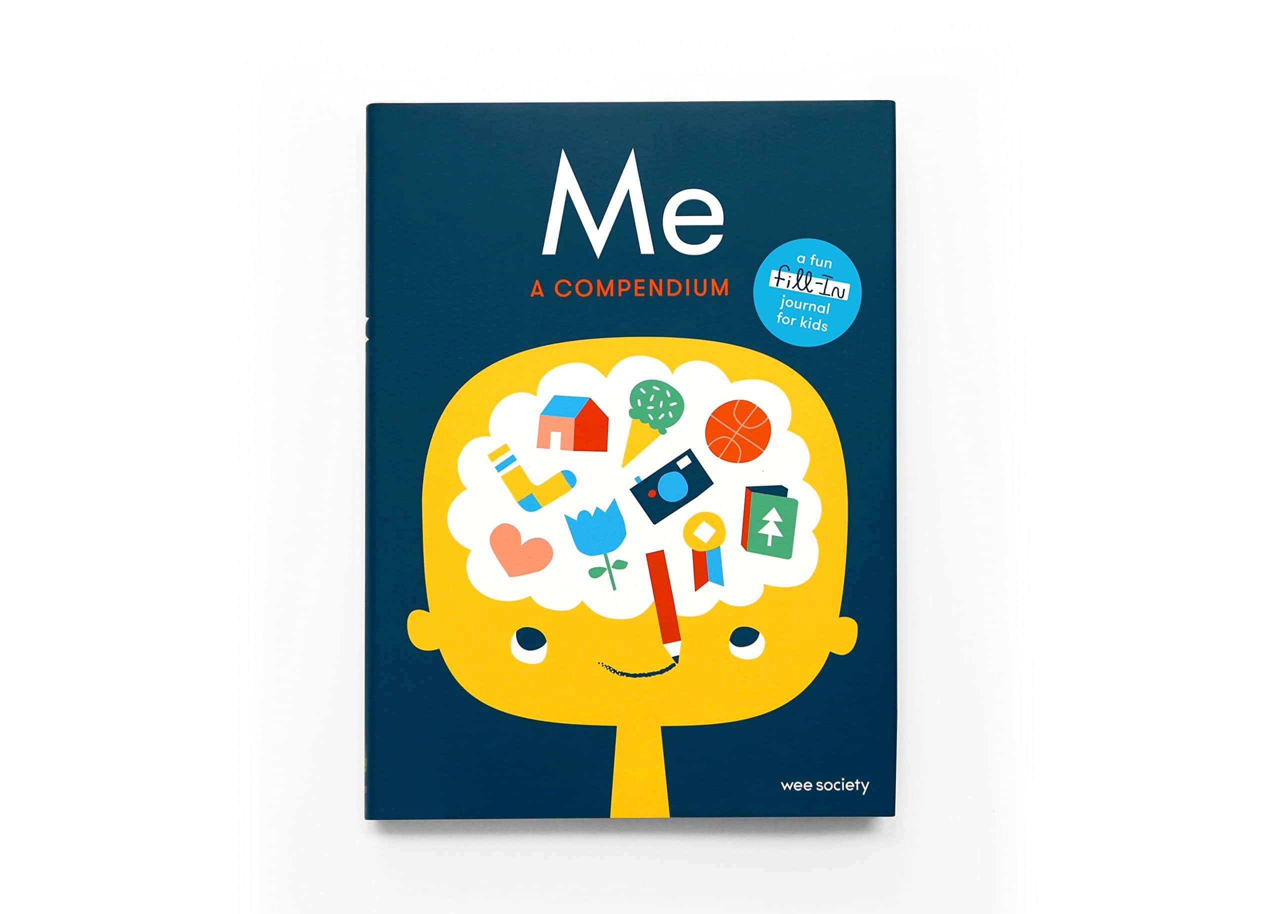 Fill-in journal designed to help kids creativity.