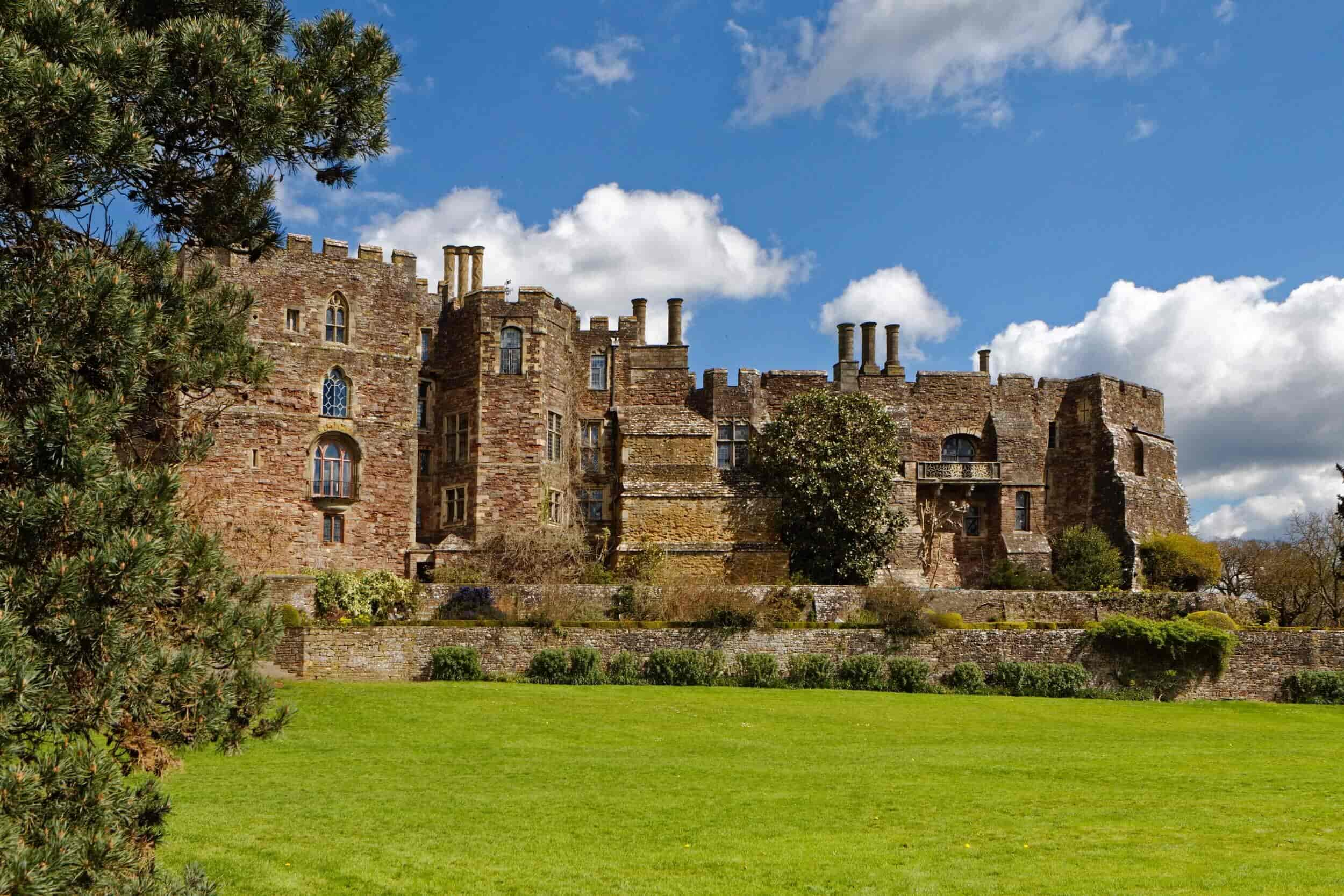 The exterior of Berkeley Castle.