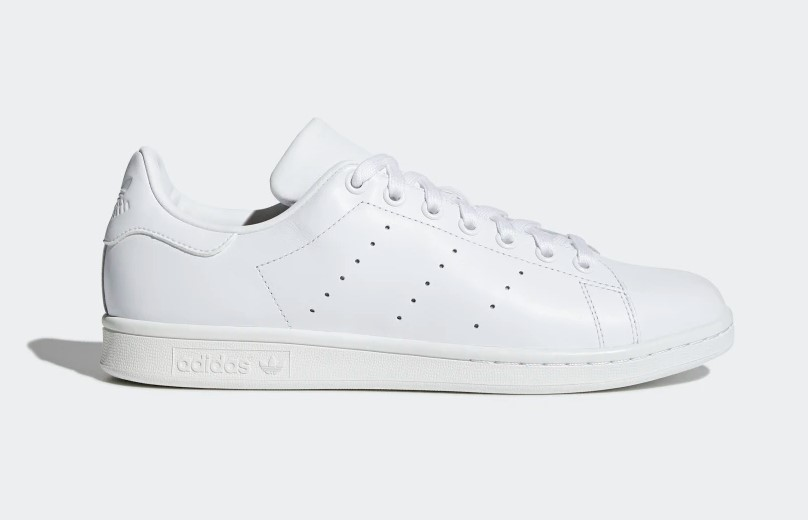 Adidas Youths Stan Smith White Leather Trainers