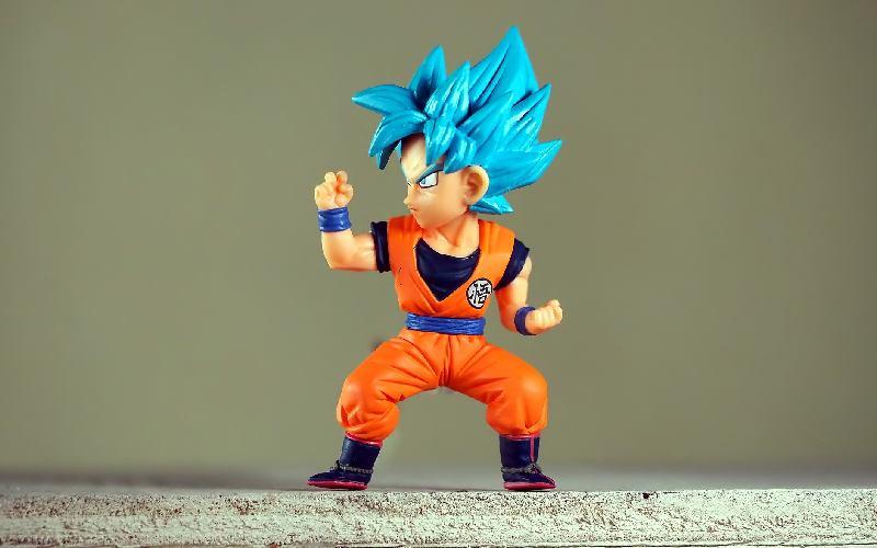Figurine from Dragon Ball Z.
