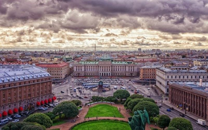 A gorgeous image of St. Petersburg, Russia.