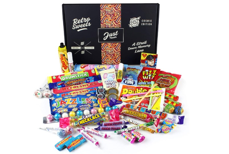 Gift box jam packed with the best ever Retro Sweets.
