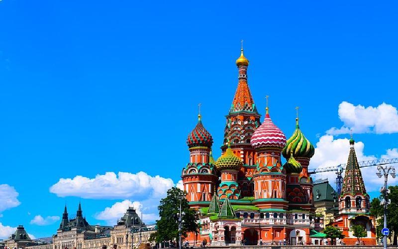 Buildings in a Slavic city.