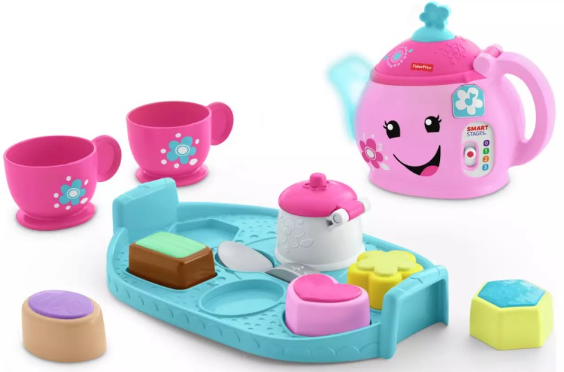 A magical tea set for two that introduces kids to nice manners.