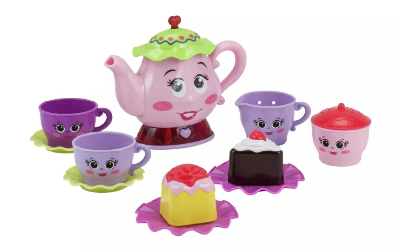 Children will enjoy this lights and sounds tea party set.