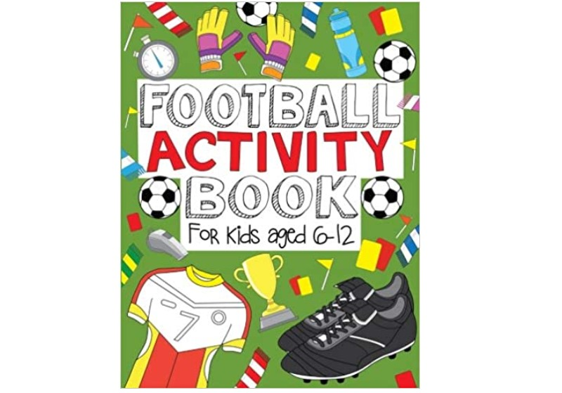 Football activity full of games, puzzles and doodles.