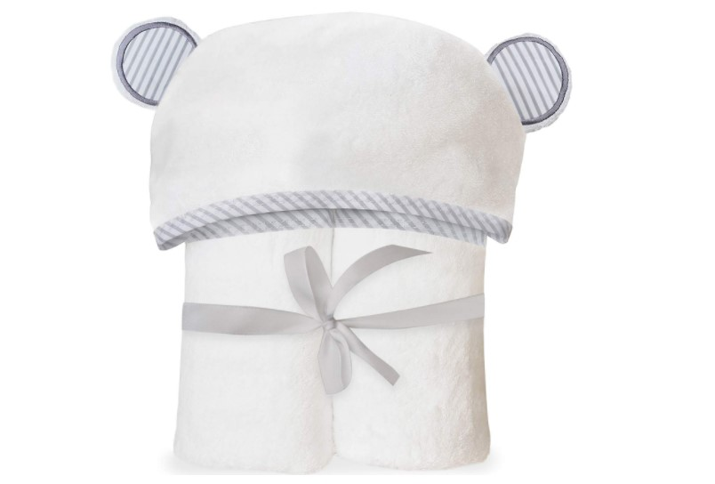 Ultra-soft and breathable hooded towel.