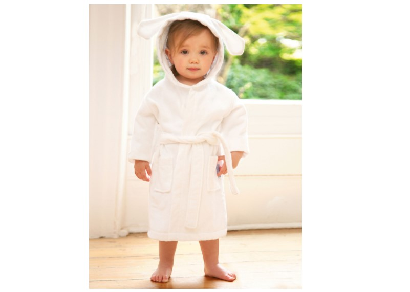 Cute style super soft cotton bunny towel.