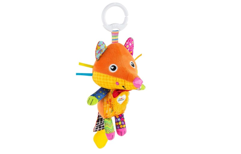 Clip & go Flannery The Fox toy.