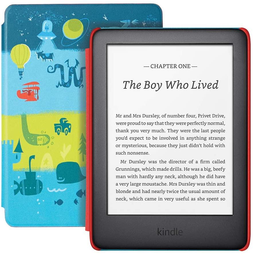 The Kids Edition Amazon Kindle.