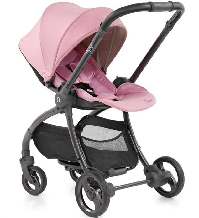 Quail Strictly Pink Lightweight Stroller.
