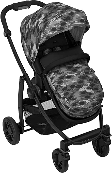 Grace EVO Pushchair in camo design.