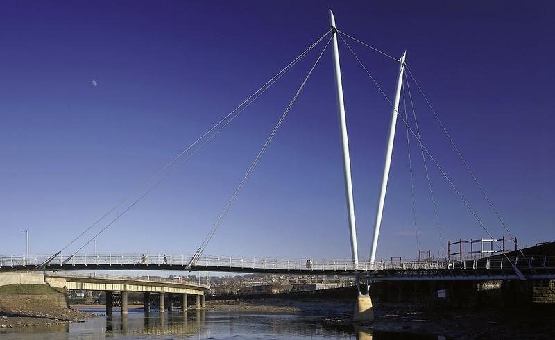 Lancaster Millennium Bridge.