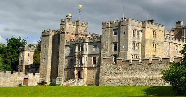 The exterior of Chillingham Castle.