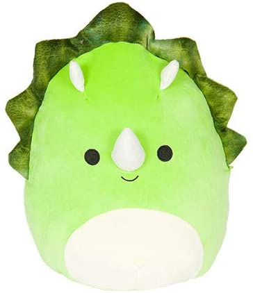 Squishmallows Super Soft Toy Tristan Triceratops.
