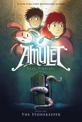 The Stonekeeper - Amulet 1 by Kazu Kibuishi.