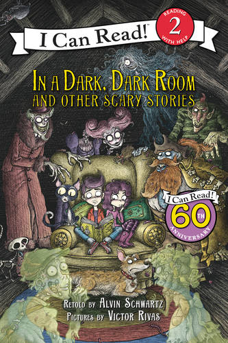 In a Dark, Dark Room and Other Scary Stories by Alvin Schwartz and Dirk Zimmer.