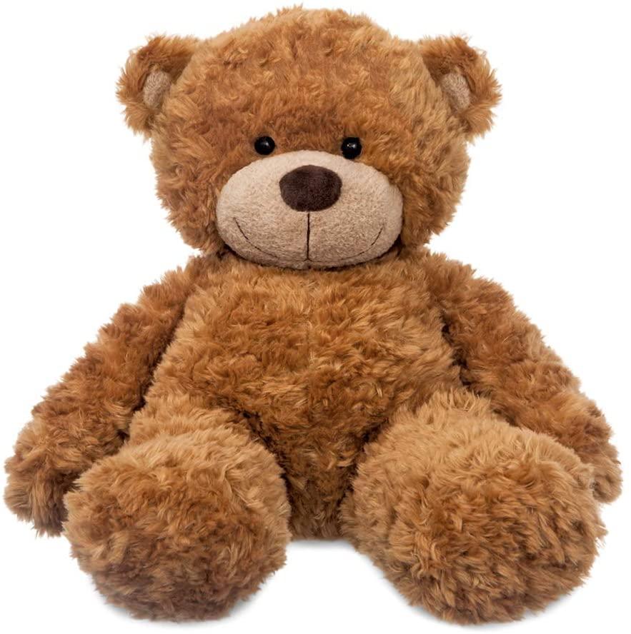 Soft and cuddly 13-inch Bonnie Teddy Bear.