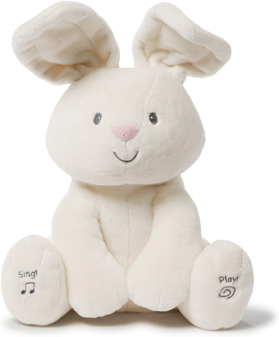 A sweet and smiling animated bunny best for toddlers.