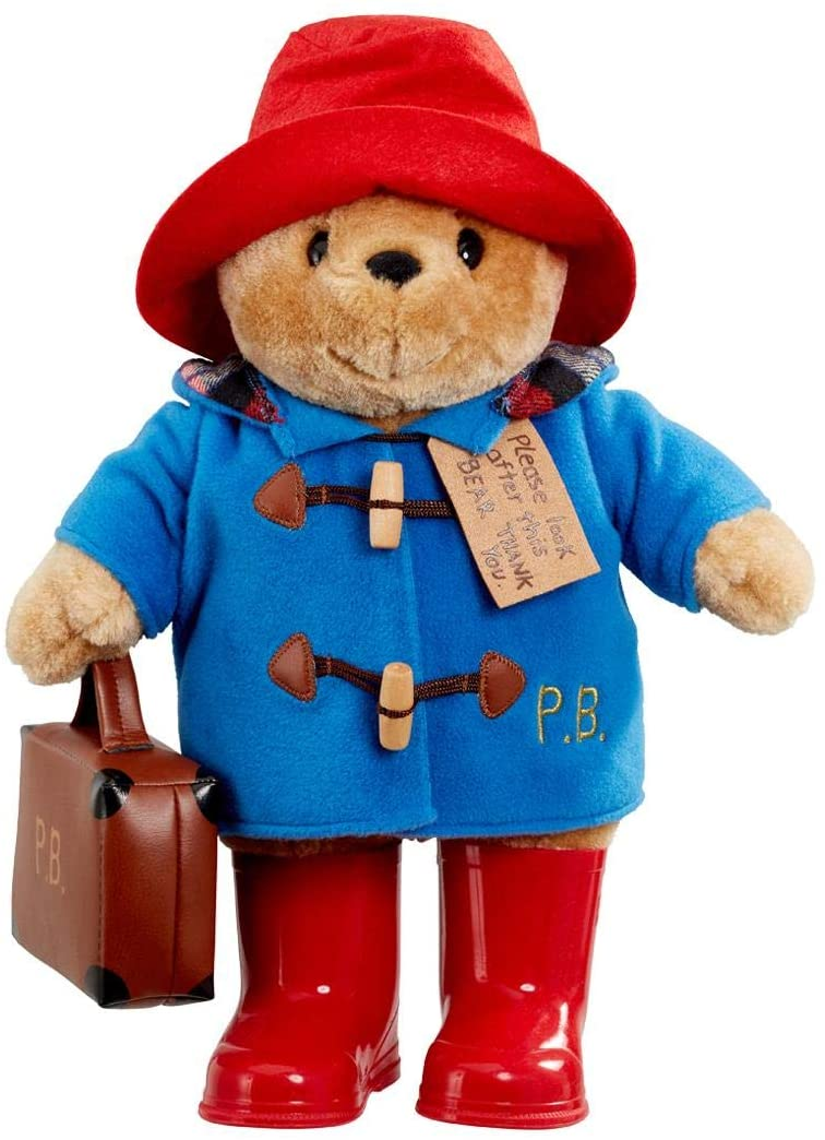 Classic Paddington with his coat and hat best for book lovers.