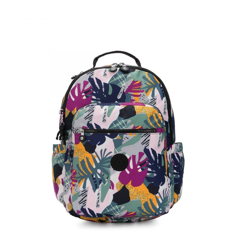 Lightweight but large backpack with a spacious interior.